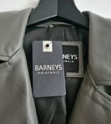 Barney's kožna jakna s etiketom