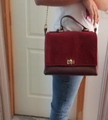 My lovely bag bordo torba