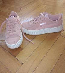 Tenisice Puma suede pink optimal comfort nove