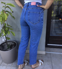 RESERVED hlace mom jeans