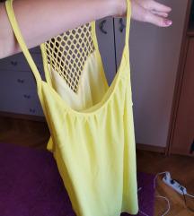 Ljetna žuta haljinica