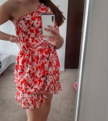 MANGO haljina na jedno rame