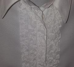 Bijela košulja 38/40 s volančićima