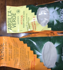 Argital zelena glina i ventilirana zelena glina