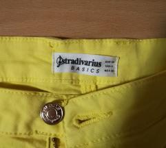 Stradivarius žute hlačice