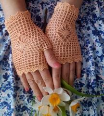 Damske čipkaste rukavice