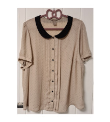 H&M točkasta bluza