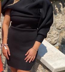 Asos crna haljina otvorenih leđa! M