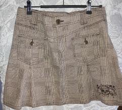 Karirana suknjica S/M