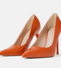 Zara narancaste salonke