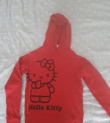 Hello Kitty crvena duksa, trenirka
