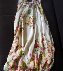 Svilena haljina Zara M/L