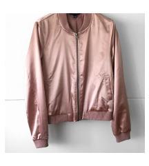 Rose gold bomber jakna 🎀