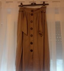 Nova midi RESERVED suknja