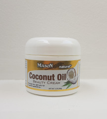 Coconut oil beauty cream.novo