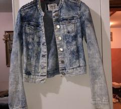 Jeans kratka jakna, 70 kn!