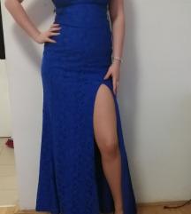 Svecana plava haljina