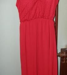 crvena duga haljina