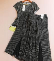 Novi set -  plisirana suknja i odgovarajući top