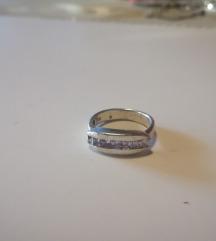 Prsten 925 srebro, oštećen