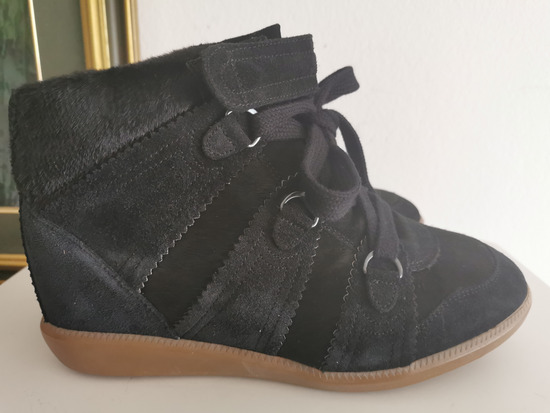 Isabel Marant Pony over basket sneakers