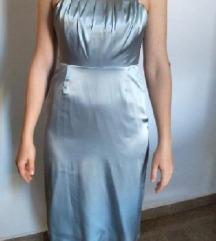 Ledeno siva/plava haljina