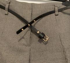 ZARA hlače s remenom