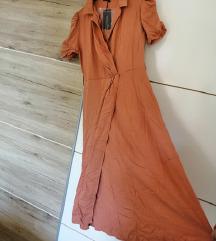 Terracota smeđa haljina