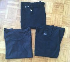 Lot 4 basic crne  majice