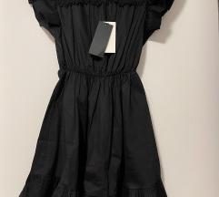 Crna haljinica 36 novo