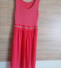 Ljetna roza haljina