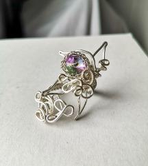 Ručno izrađen prsten od žice