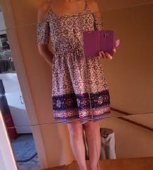 Mini ljetna boho haljina