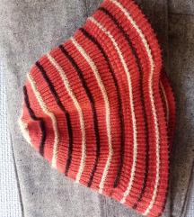 Vintage pletena bucket hat