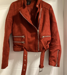 Zara crvena jakna S