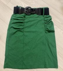 suknja zelena L-XL