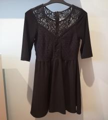 H&M Crna kratka haljina
