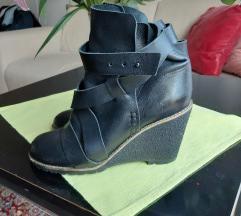 Chloe crne cipele gležnjače