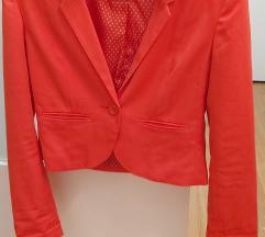 H&M sako basic crveni