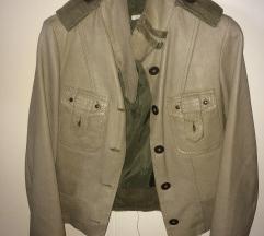 Kožna jakna Pois 40 markirana chevre koža
