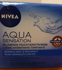 Nivea Aqua sensation krema, NOVA