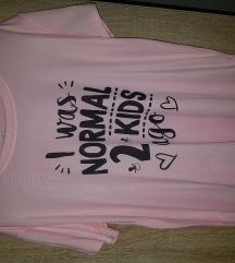 Nova majica roza L