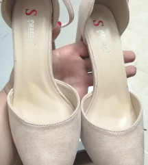 Puder roza sandale