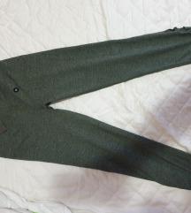 Abercrombie & Fitch tamno zelene tajice