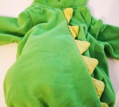 Maska za 12 mj. Krokodil