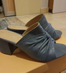 Otvorene sandale plave boje