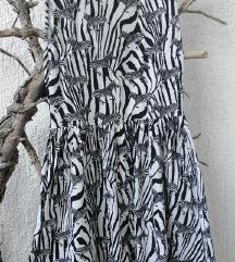 H&M haljina na zebre