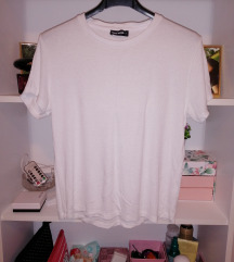 Bijela oversized majica