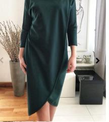 zelena haljina - image haddad