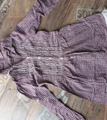 Karirana haljina S